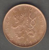 REPUBBLICA CECA 10 KORUN 1993 - Repubblica Ceca