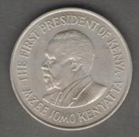 KENIA 1 SHILLING 1971 - Kenia