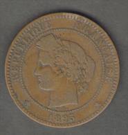 FRANCIA 10 CENTIMES 1895 - Francia