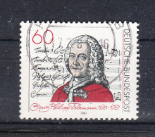 Germania    -   1981.  G.Philipp  Teleman Compositore . Composer  ( 1681-1767 ) - Musik