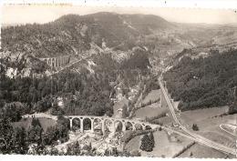 Les Quatre Viaducs Du Morez   TTBE Timbrée - Otros Municipios
