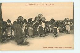 MAMOU : Danses Foulah. Guinée. Edition James . 2 Scans - Guinée Française