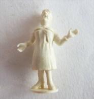 FIGURINE PUBLICITAIRE STENVAL TINTIN 05 Monochrome Blanc - Pas Dunkin - Hergé CASTAFIORE - Tintin