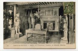 CP , 02 , COUCY-le-CHATEAU , Maison Du Gouverneur, Chambre De Gabrielle D'Estrées - Autres Communes