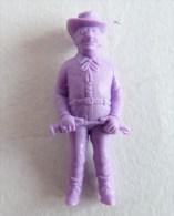 FIGURINE PUBLICITAIRE STENVAL TINTIN 34 monochrome Violet - pas dunkin - herg�