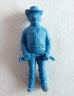 FIGURINE PUBLICITAIRE STENVAL TINTIN 44 monochrome Bleu - pas dunkin - herg�