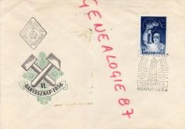HONGRIE - BUDAPEST - BAINYASZNAP 1956- MAGYAR POSTA- - Hungary