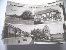 Duitsland Deutschland Ehem. DDR Brandenburg Templin Schön - Templin