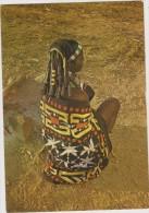 Afrique,angola,colonie Portuguaise,Mulher Muila Com Penteado E Pano Caracteristicos,tresses,c Oncentration,esprits,rare - Angola