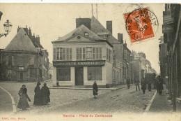 CPA ( Banque B4) SOCIETE GENERALE     VERVINS Place Du Centenaire - Banques