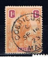 M+ Malta 1922 Mi 84 Allegorische Figur - Malta (...-1964)