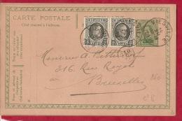 BR-6706  J.P.MEYERS  PRODUITS ET ENGRAIS CHIMIQUES    Vertrekstempel  VIESVILLE Aankomststempel  ---- - 1915-1920 Alberto I