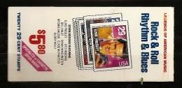 Etats-Unis D´Amérique USA 1993 N° Carnet 2161 ** Musique, Rock And Roll, Elvis Presley, Otis Redding, Ritchie Valens - Unused Stamps