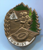 SCOUT, Scoutisme, Eclaireur - DDR, Enamel, Pin, Old Badge - Padvinderij