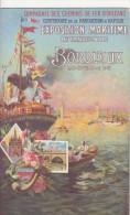 Exposition Maritime Internationale Bordeaux 1907 - Advertising