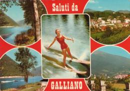 Saluti  Da  GALLIANO , Eupilio   , Lago Del Segrino - Como