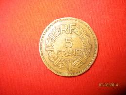 5 Francs 1946 C Bronze-alu - J. 5 Franchi