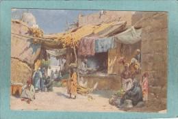 OMDURMAN ( KHARTUM )   -  SCENE  DE  RUE  -  C. WUTTKE  -  1924  - ( Timbre Enlevé ) - Sudan
