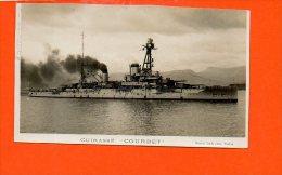 """Bateaux - Cuirassé """"COURBET """" (carte Raccourcie) - Guerre"""