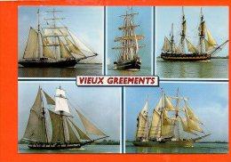 Bateaux - Vieux Greements - Bateaux