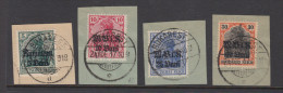 German Occupation Of Romania - Mi 4-7 Used - Occupation 1914-18