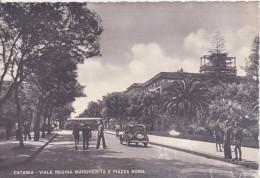 Catania Viale Regina Margherita e Piazza Roma