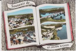Loir Et Cher :  SAINT  JULIEN  Sur  CHER  : Vues  1971 - France
