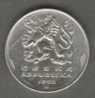 REPUBBLICA CECA 5 KORUN 1993 - Repubblica Ceca