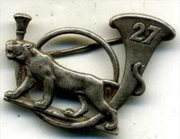Insigne Du 27é BCA___drago - Armée De Terre