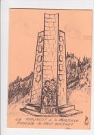 Menu THIAIS Combattants Volontaires De La Résistance Val De Marne MONT MOUCHET General De Gaulle Mai 1949 - Menus