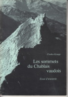 Les Sommets Du Chablais Vaudois - Essai D'oronymie - Nature