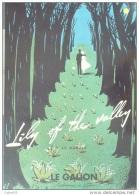 "PUBLICITE-PARFUM-LE GALION \""""LILY OF THE VALLEY\""""-1953-54 - Labels"
