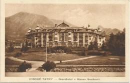 Slovakia Vysoke Tatry Stary Smokovec Grand Hotel - Slovakia