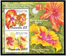Michel Bl 30 - Cote 6.00  - XX - Hong Kong 1997   -   Flower - Vanuatu (1980-...)