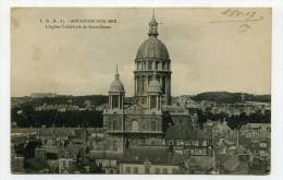 CP , 62 , BOULOGNE-sur-MER , L'Eglise Cathédrale De Notre-Dame - Boulogne Sur Mer