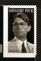 Etats-Unis D´Amérique USA 2011 N° 4360 ** Hollywood, Gregory Peck, Acteur, Cinéma, Film, Les Neiges Du Kilimandjaro - United States