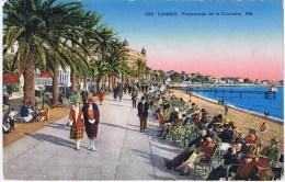 CPA   Cannes   Promenade De La Croisette - Cannes