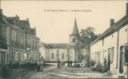 58 SAINT MALO / La Mairie Et L'église / - Autres Communes