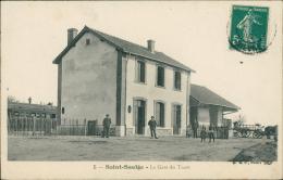 58 SAINT SAULGE / La Gare Du Tacot / - Francia