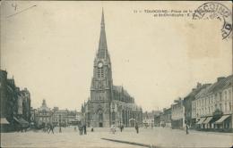 59 TOURCOING / Place De La République Et Saint Christophe / - Tourcoing