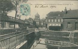 59 TOURCOING / Pont Sur Le Canal Et Le Château Du Congo/ - Tourcoing