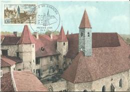 Abbaye De CHARLIEU 1972 Le 29/04 à  CHARLIEU - Maximum Cards