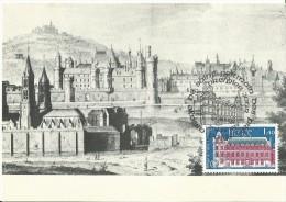 Abbaye De SAINT GERMAIN 1979 Le 21/04 à  PARIS - Maximum Cards