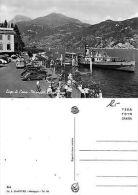 Lago Di Como - Menaggio - Lungo Lago ANIMATA CON BATTELLO E AUTO (S-L XX111) - Como