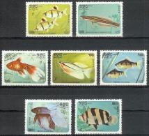 Kampuchea 1985 Campuchea / Fish MNH Fische Peces / C7118   38 - Peces