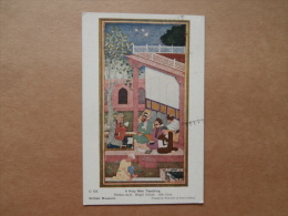 36075 PC:  MUSEUMS: British Museum - A Holy Man Teaching. Persian Style. Mogul School. 16th Cent. - Museum
