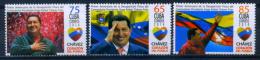 Cuba 2014 / Venezuela President Hugo Chavez MNH Flags Banderas / C6806   1 - Celebridades