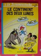 Le Scrameustache. 3- Le Continent Des Deux Lunes. Gos. Dargaud. 1994 - Scrameustache, Le
