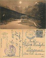 Misurina TIMBRI HOTEL Anno 1925 RARISSIMO NOTTURNO Edit. Corti Auronzo (R-L 047) - Belluno