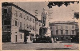 SARZANA (LA SPEZIA) - PIAZZA GARIBALDI - FORMATO PICCOLO - VG 1939 - La Spezia